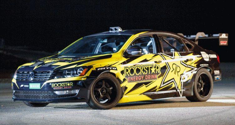 Tanner Foust VW Passat Formula Drift Car