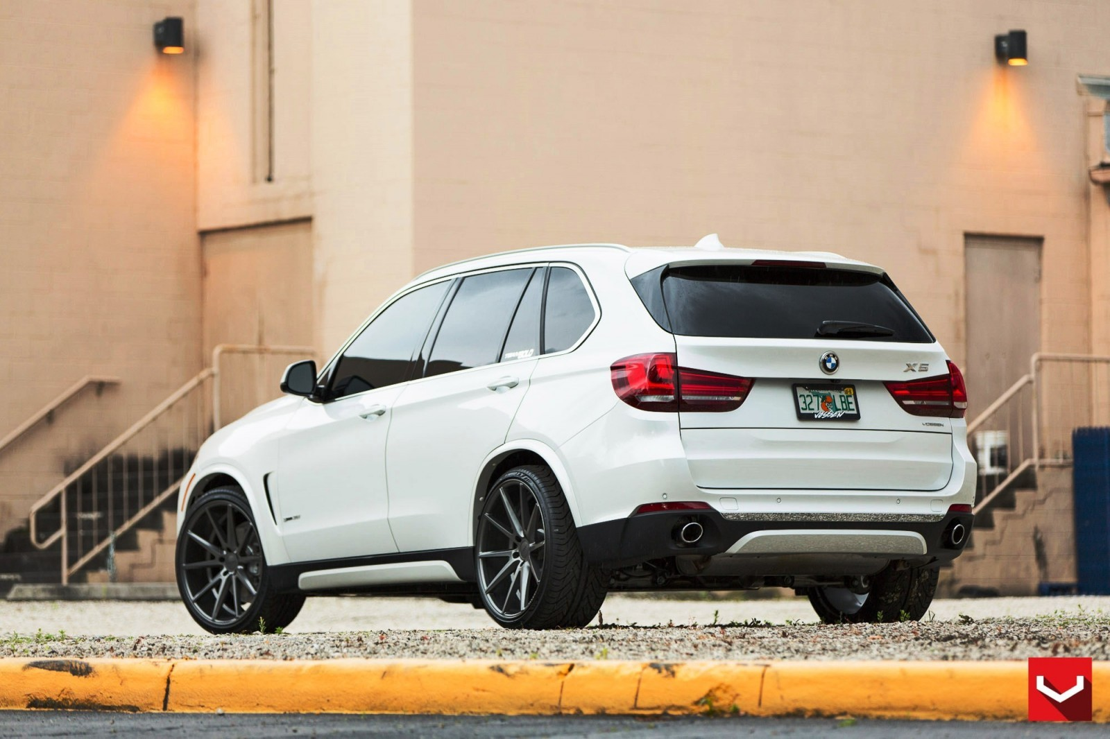 VOSSEN VFS1 Wheels on 2015 BMW X5 sDrive35i M Sport 1