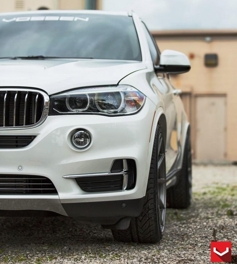 VOSSEN VFS1 Wheels on 2015 BMW X5 sDrive35i M Sport 13