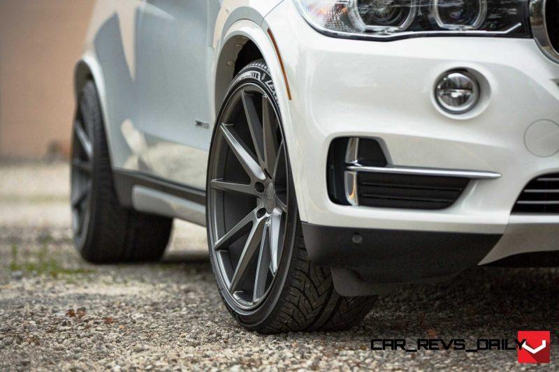 VOSSEN VFS1 Wheels on 2015 BMW X5 sDrive35i M Sport 17