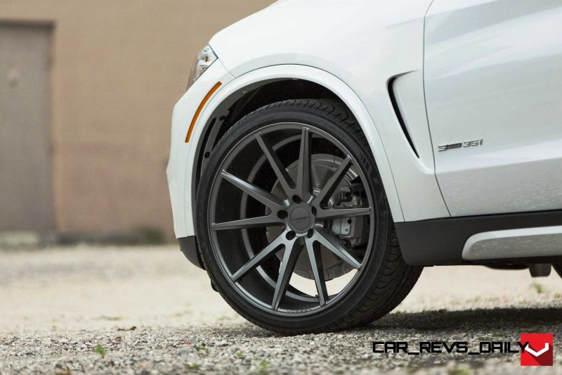 VOSSEN VFS1 Wheels on 2015 BMW X5 sDrive35i M Sport 18