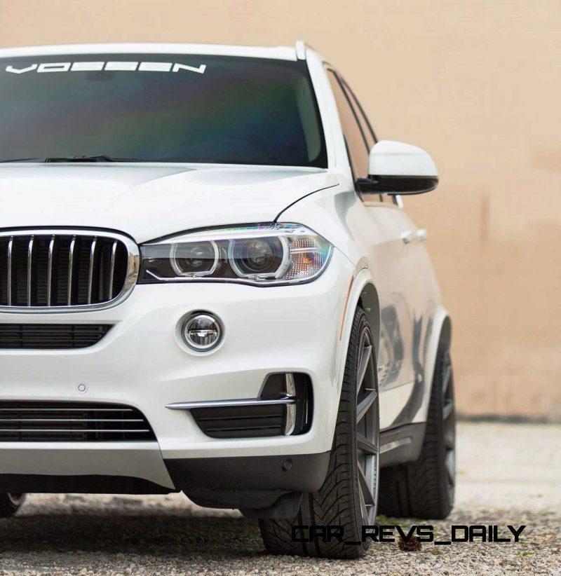 VOSSEN VFS1 Wheels on 2015 BMW X5 sDrive35i M Sport 19