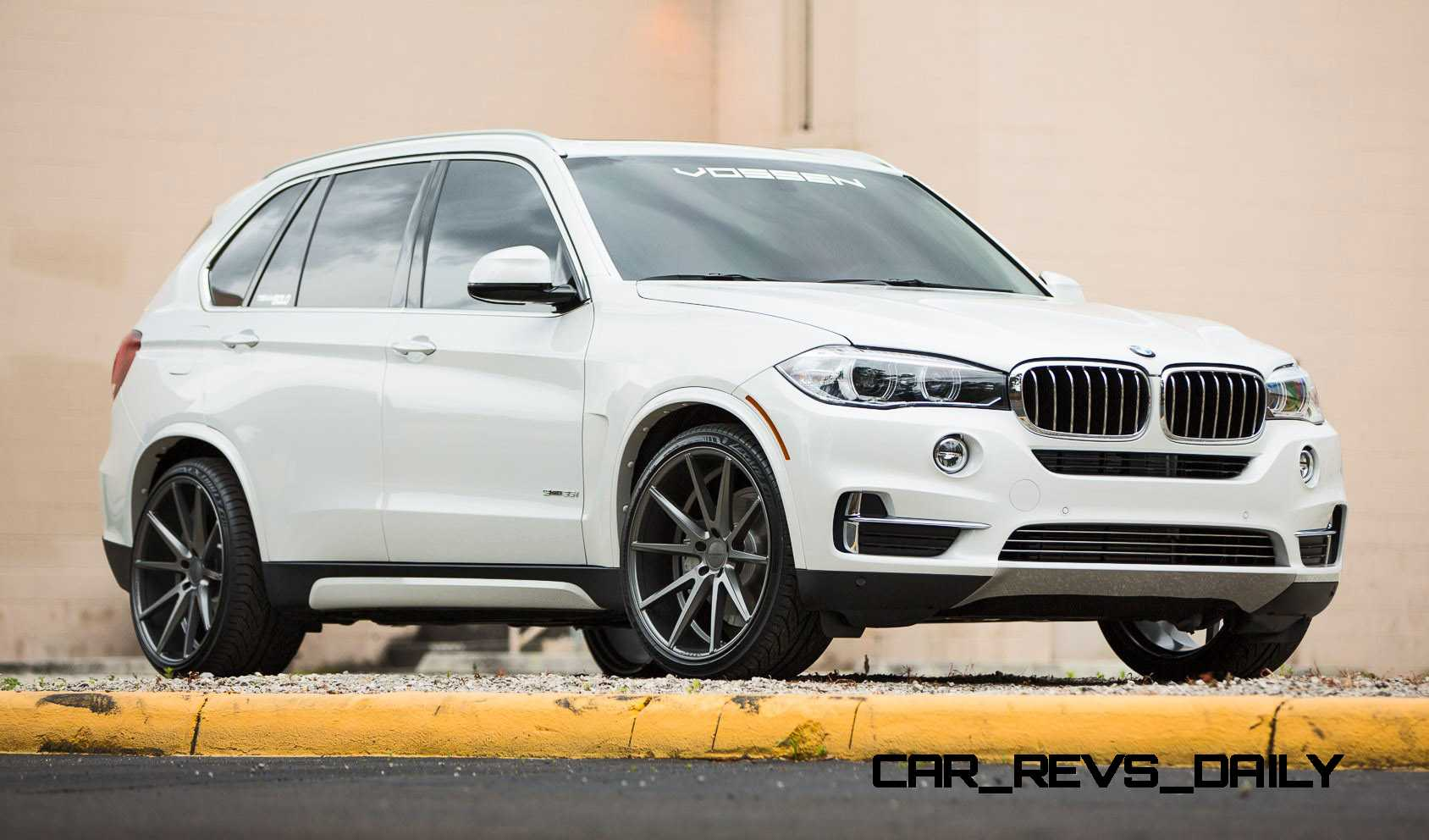 vossen vfs1 wheels on 2015 bmw x5 sdrive35i m sport 20. Black Bedroom Furniture Sets. Home Design Ideas