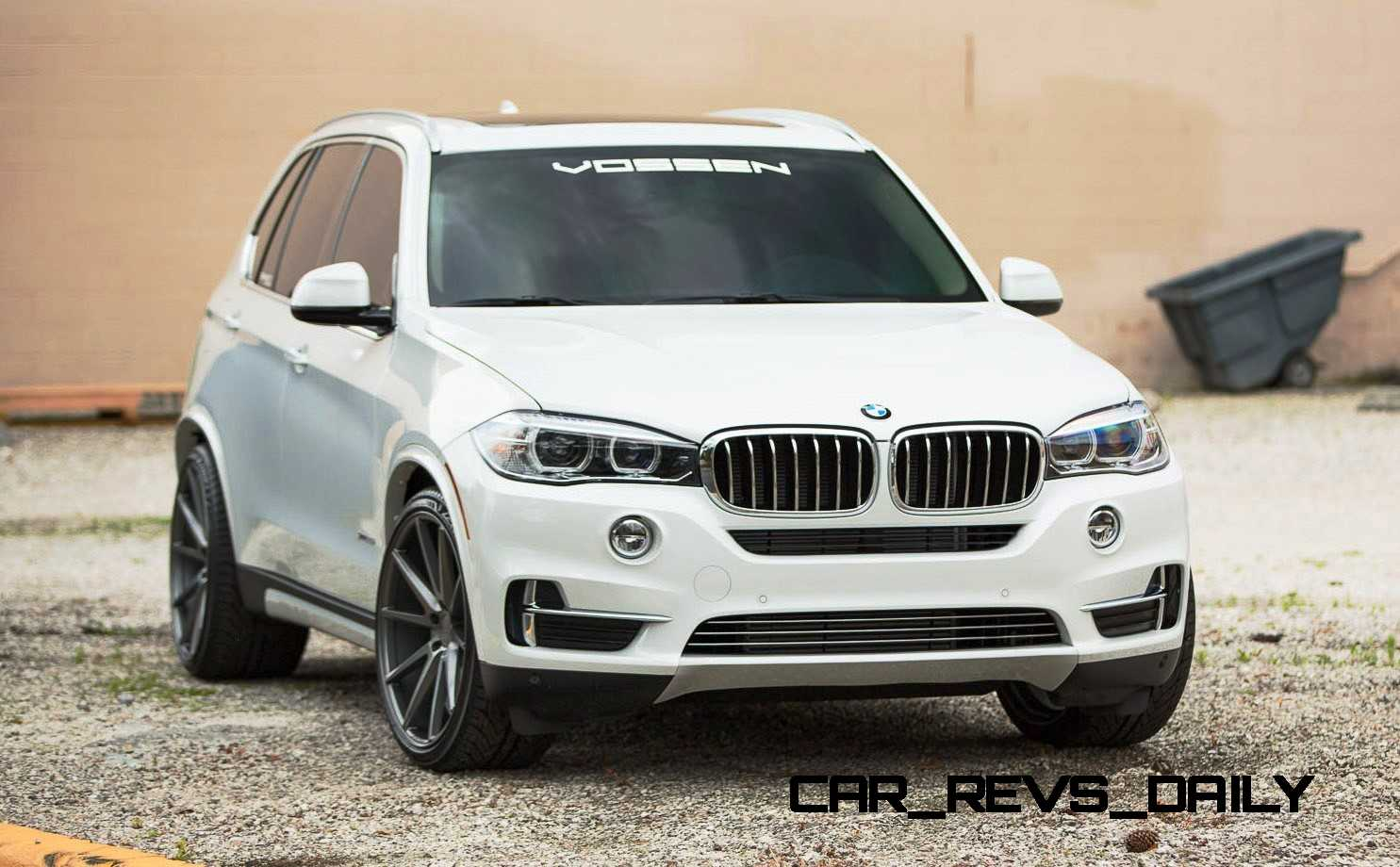 VOSSEN VFS1 Wheels on 2015 BMW X5 sDrive35i M Sport 21