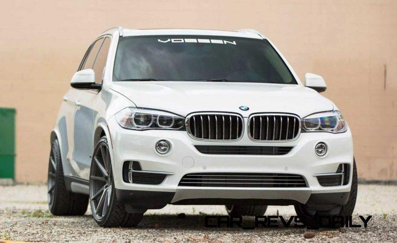 VOSSEN VFS1 Wheels on 2015 BMW X5 sDrive35i M Sport 26