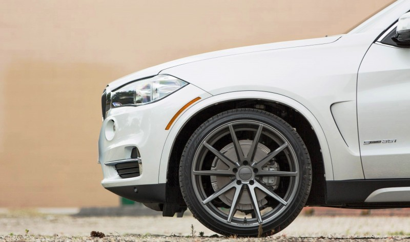VOSSEN VFS1 Wheels on 2015 BMW X5 sDrive35i M Sport 7