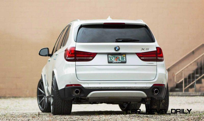 VOSSEN VFS1 Wheels on 2015 BMW X5 sDrive35i M Sport 9