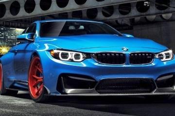 Vorsteiner GTRS4 BMW M4 Blue 11