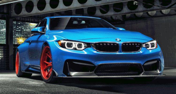 Vorsteiner GTRS4 BMW M4 Blue