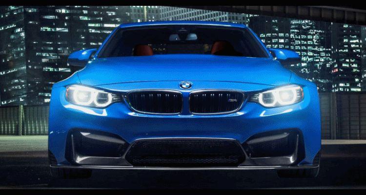 Vorsteiner GTRS4 vs BMW M4 Blue