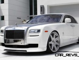 Vorsteiner Rolls Royce Ghost – 55-Photo Wheel and Bodykit Showcase