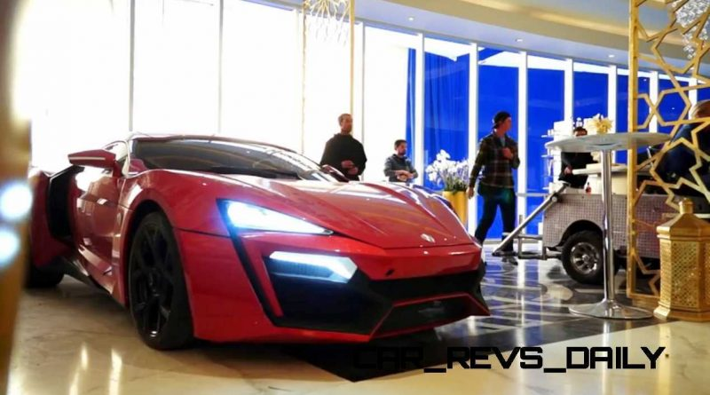 W Motors Lykan HyperSport Furious7 Cameo 26