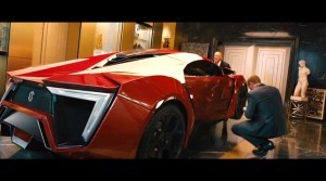 W Motors Lykan HyperSport Furious7 Cameo 32