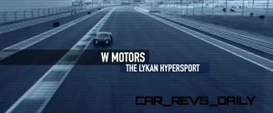 W Motors Lykan HyperSport Furious7 Cameo 62