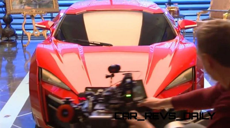 W Motors Lykan HyperSport Furious7 Cameo 8