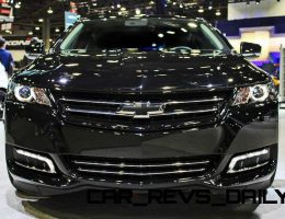 Chevrolet Impala Midnight Edition – $1k Blackout Upgrade Arriving Summer 2015