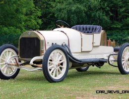 Worlds First Supercar – 1909 Benz 35-60PS Speedster Ran 9-Liter Four-Cylinder!
