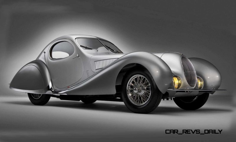 1938 Talbot-Lago T150-C SuperSport Teardrop Coupe 4