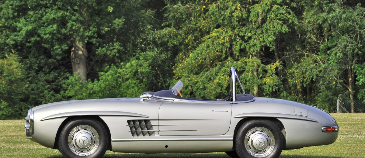 1957 Mercedes-Benz 300SLS Racing Speedster 5