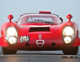 Racing Icons Series – 1968 Alfa Romeo T33/2 Daytona Is Legendary Bubble-Top Targa