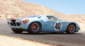 1968 Ford GT40 Gulf Mirage Lightweight LM Racecar 12
