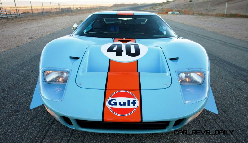 1968 Ford GT40 Gulf Mirage Lightweight LM Racecar 16