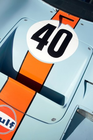 1968 Ford GT40 Gulf Mirage Lightweight LM Racecar 17