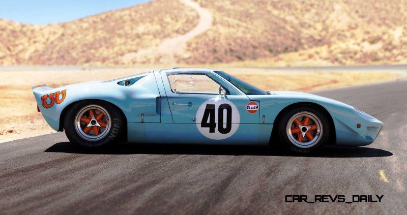 1968 Ford GT40 Gulf Mirage Lightweight LM Racecar 20