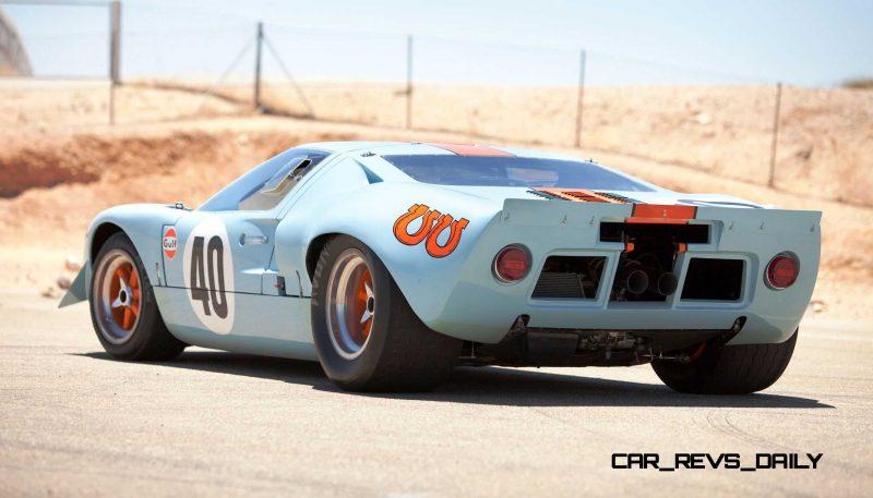 1968 Ford GT40 Gulf Mirage Lightweight LM Racecar 2