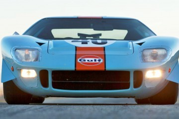 1968 Ford GT40 Gulf Mirage Lightweight LM Racecar - Most Valuable American Car Of All Time?