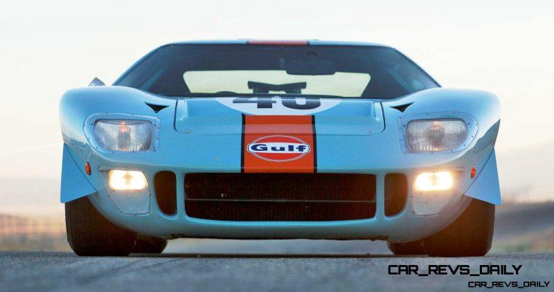 1968 Ford GT40 Gulf Mirage Lightweight LM Racecar 26