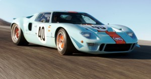 1968 Ford GT40 Gulf Mirage Lightweight LM Racecar 29