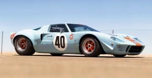 1968 Ford GT40 Gulf Mirage Lightweight LM Racecar 33