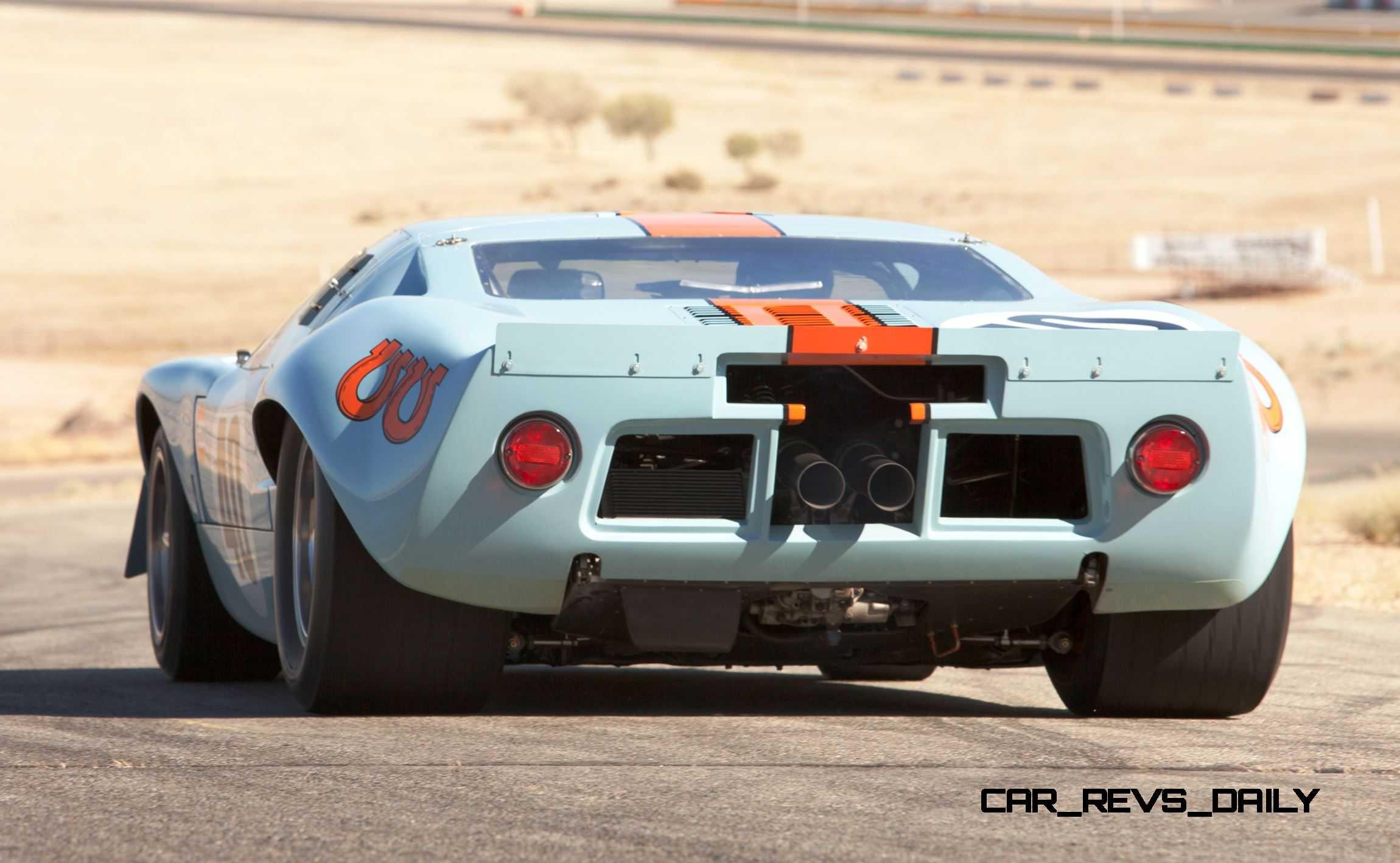 Ford Gt Gulf Mirage Lightweight Lm Racecar