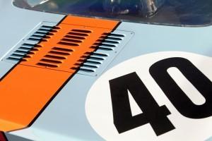 1968 Ford GT40 Gulf Mirage Lightweight LM Racecar 6