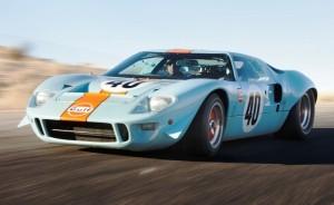 1968 Ford GT40 Gulf Mirage Lightweight LM Racecar 7