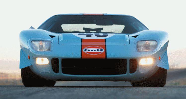 1968 Ford GT40 Gulf Mirage Lightweight LM Racecar