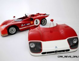 Racing Icons Series – 1970 Alfa Romeo TT3 Spider Was Lightweight Short-Tail Special