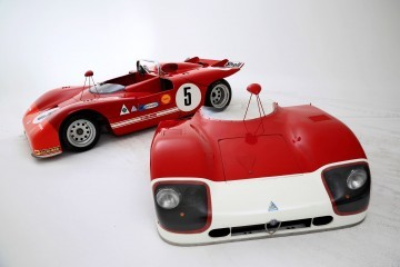 Racing Icons Series - 1970 Alfa Romeo TT3 Spider Was Lightweight Short-Tail Special