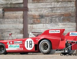 Racing Icons Series – 1972 Alfa Romeo Tipo 33TT3 Wears Stunning Batmobile Tailfins