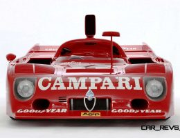 Racing Icons Series – 1975 Alfa Romeo Tipo 33TT12 Made 500HP at 11k RPM!