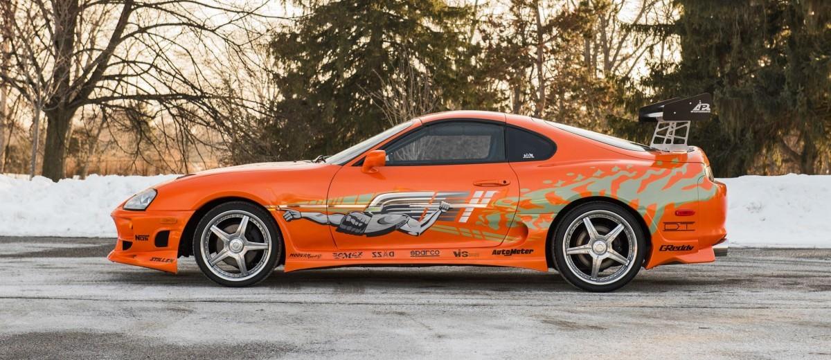 1993 Toyota Supra Official Fast Furious Movie Car 12