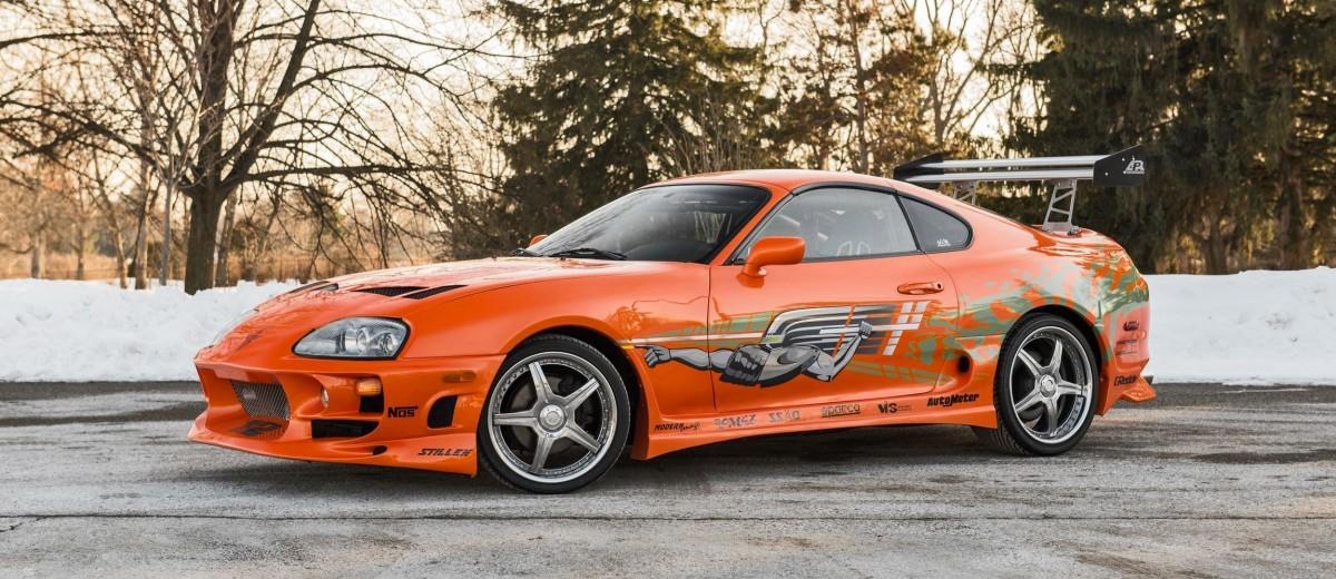 1993 Toyota Supra Official Fast Furious Movie Car 13