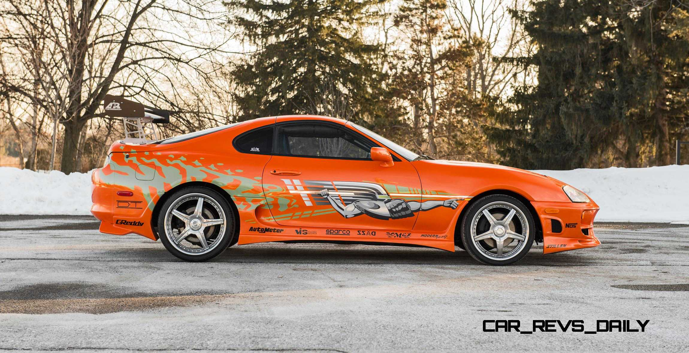 1993 Toyota Supra Official Fast Furious Movie Car 19 ...