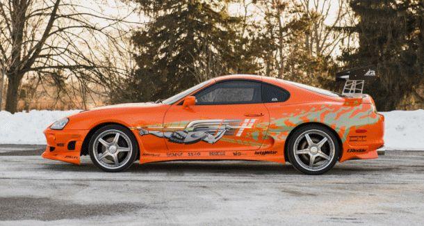 1993 Toyota Supra Official Fast Furious Movie Car
