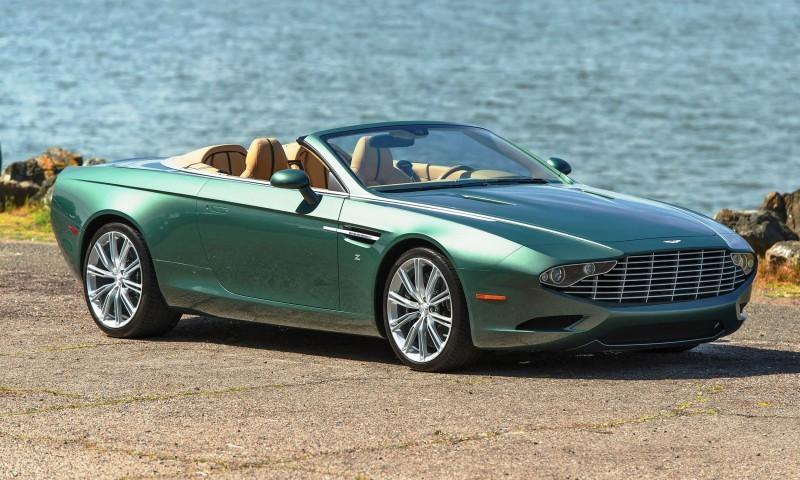 2013 Aston Martin ZAGATO DB9 Centennial Spyder 1