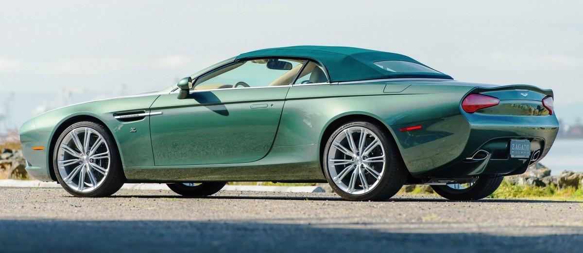 2013 Aston Martin ZAGATO DB9 Centennial Spyder 2