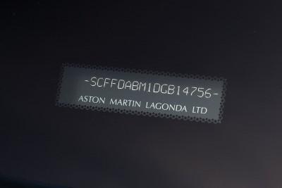 2013 Aston Martin ZAGATO DB9 Centennial Spyder 24