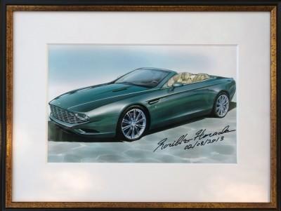 2013 Aston Martin ZAGATO DB9 Centennial Spyder 25