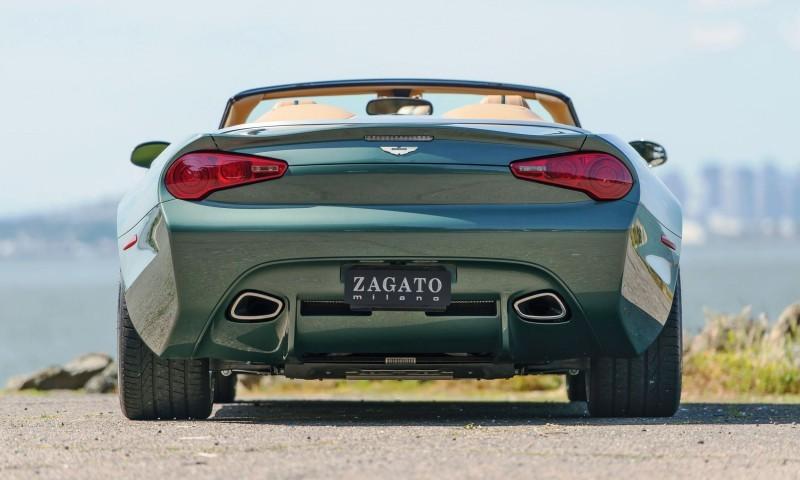 2013 Aston Martin ZAGATO DB9 Centennial Spyder 7